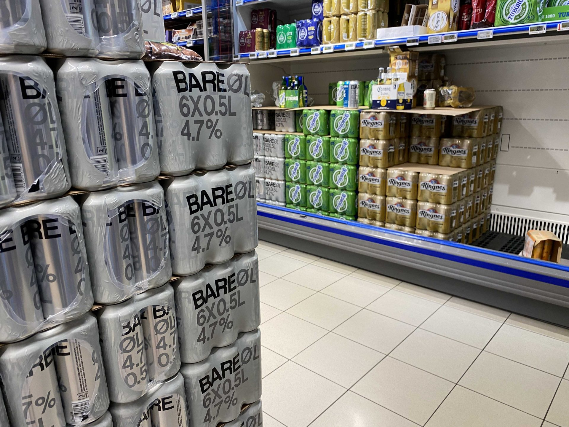 ceny alkoholu wNorwegii