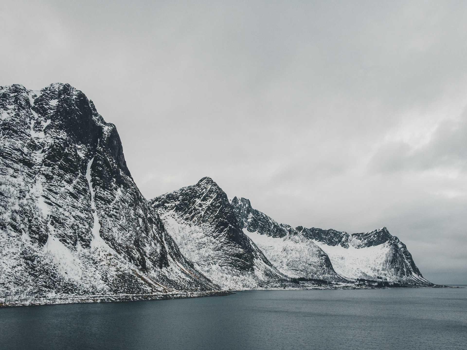 plaża Norwegia