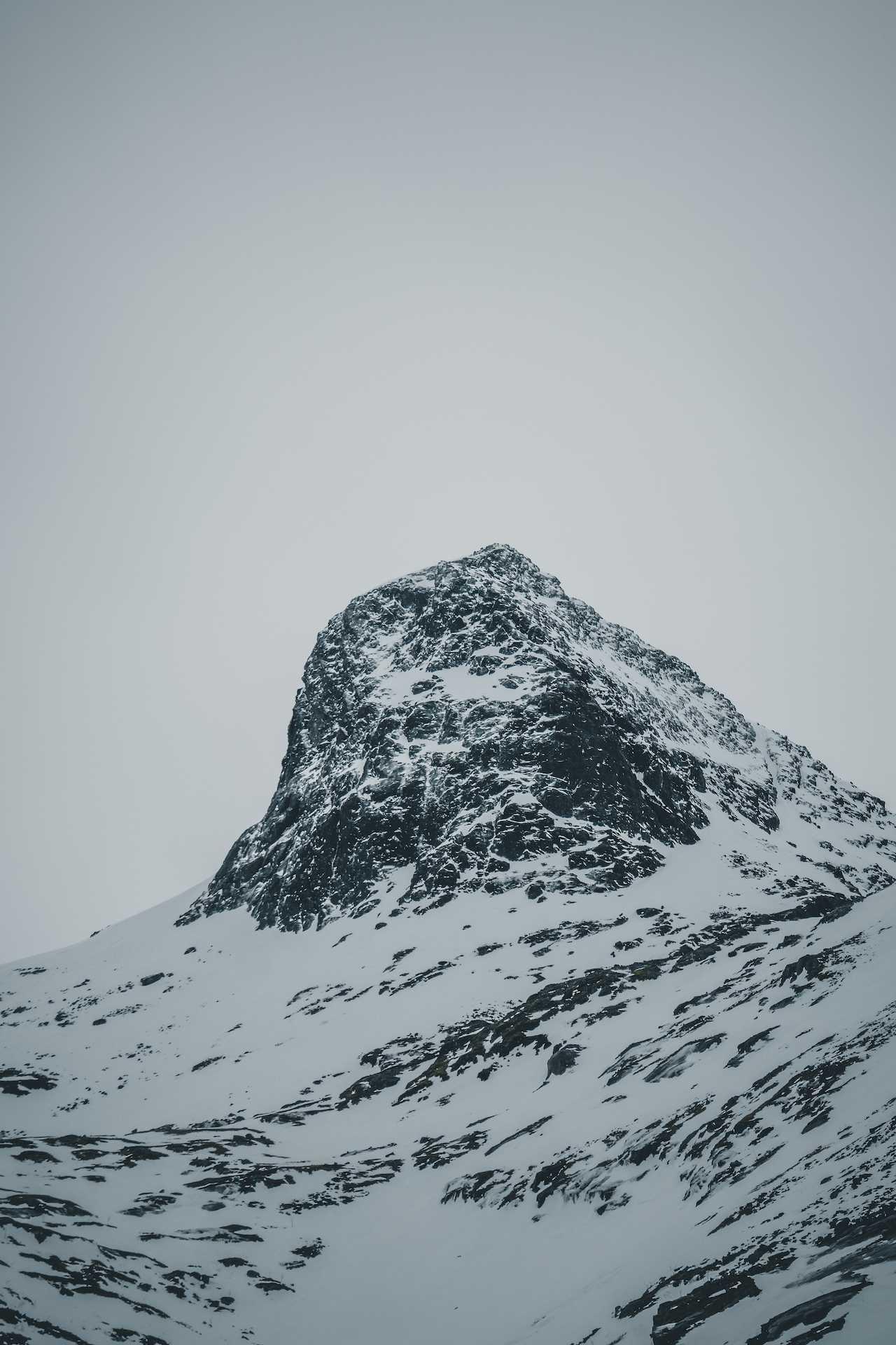 północ Norwegii wzimie
