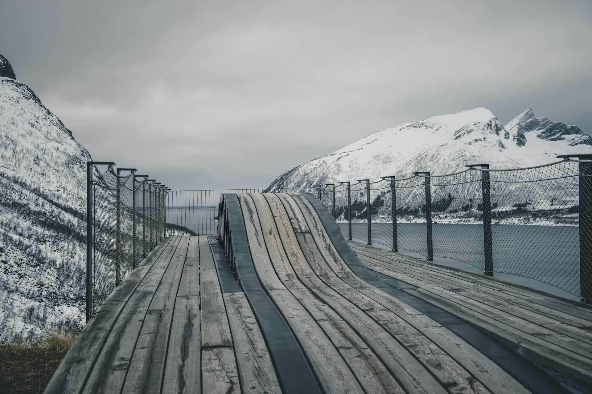 punkt widokowy Bergsbotn