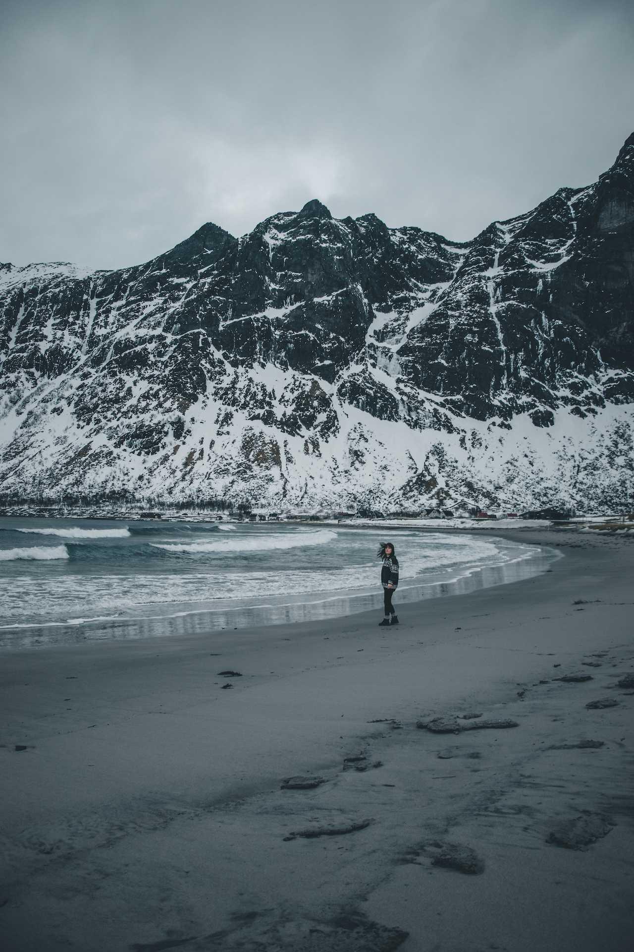 Ersfjorden plaża