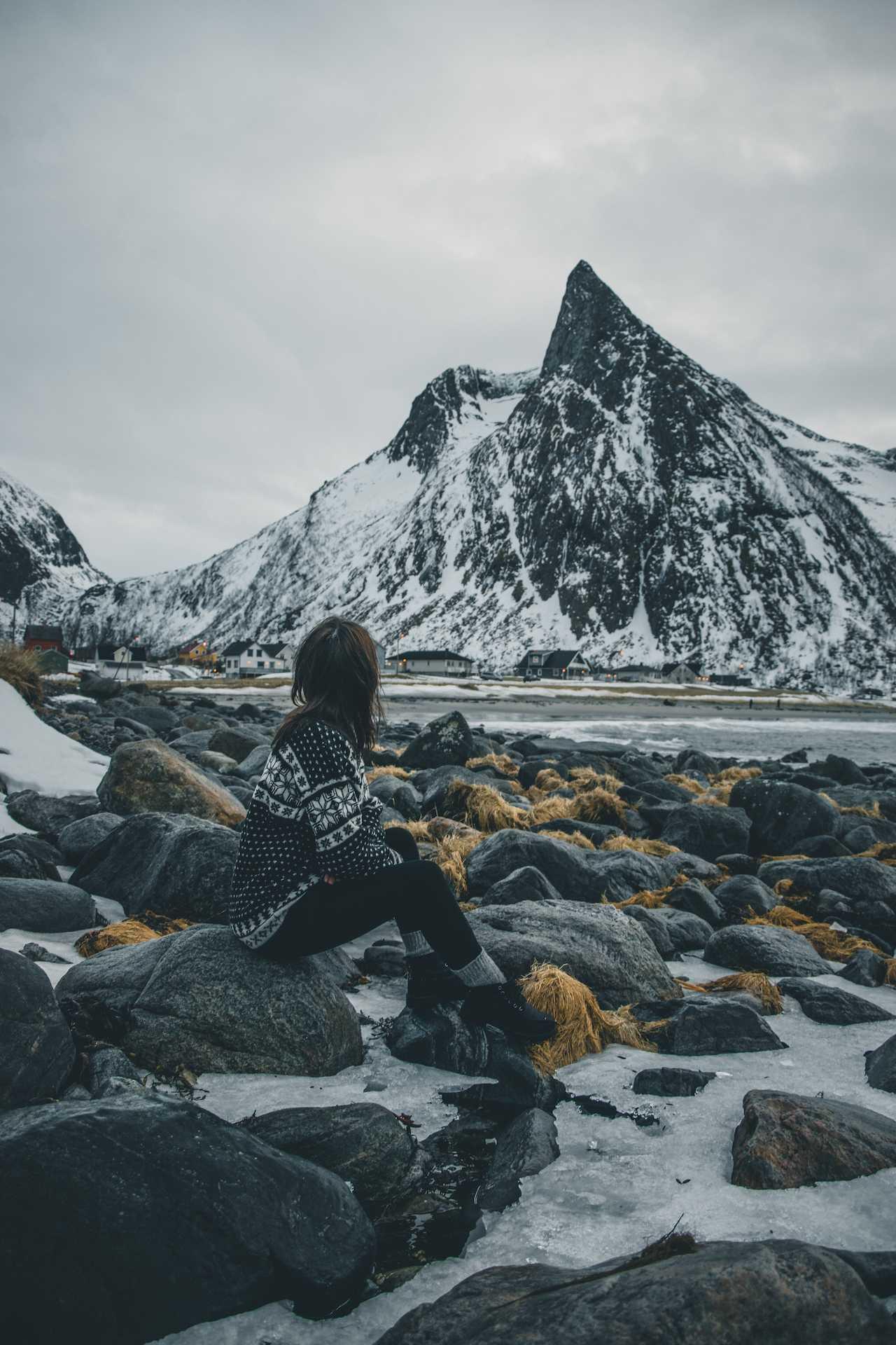 Ersfjorden Senja Norwegia