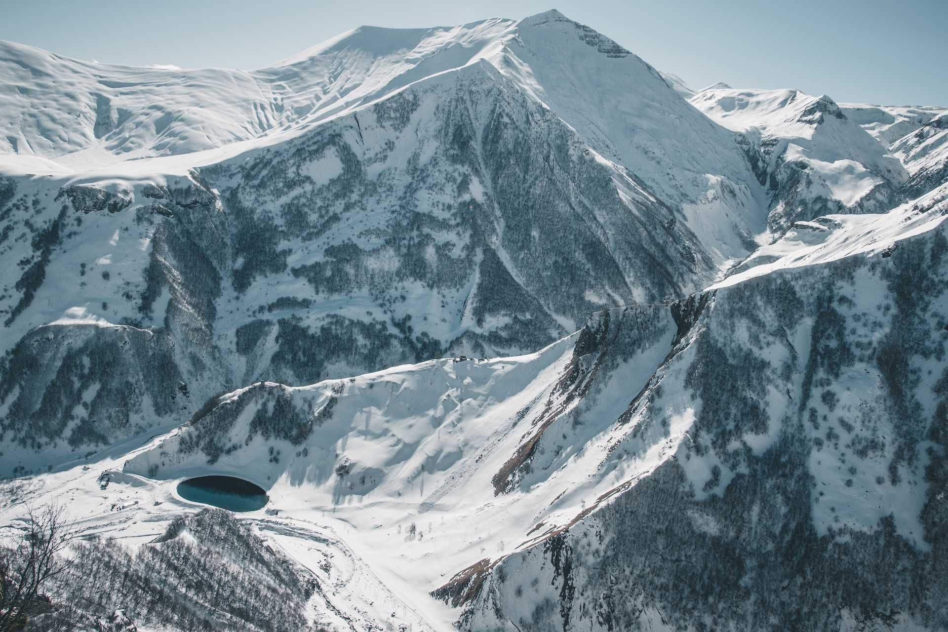 góry wGruzji