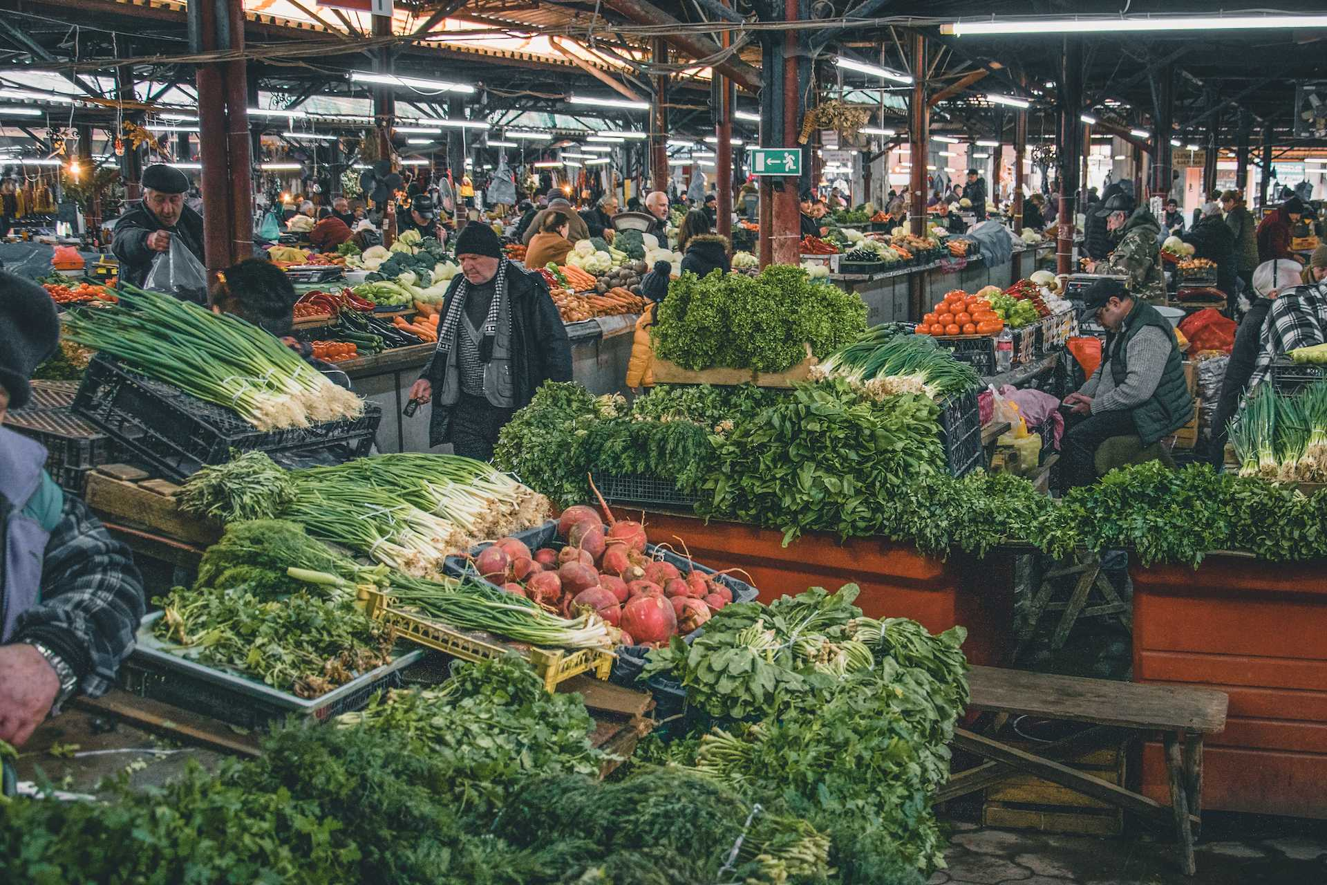zielony bazar Kutaisi