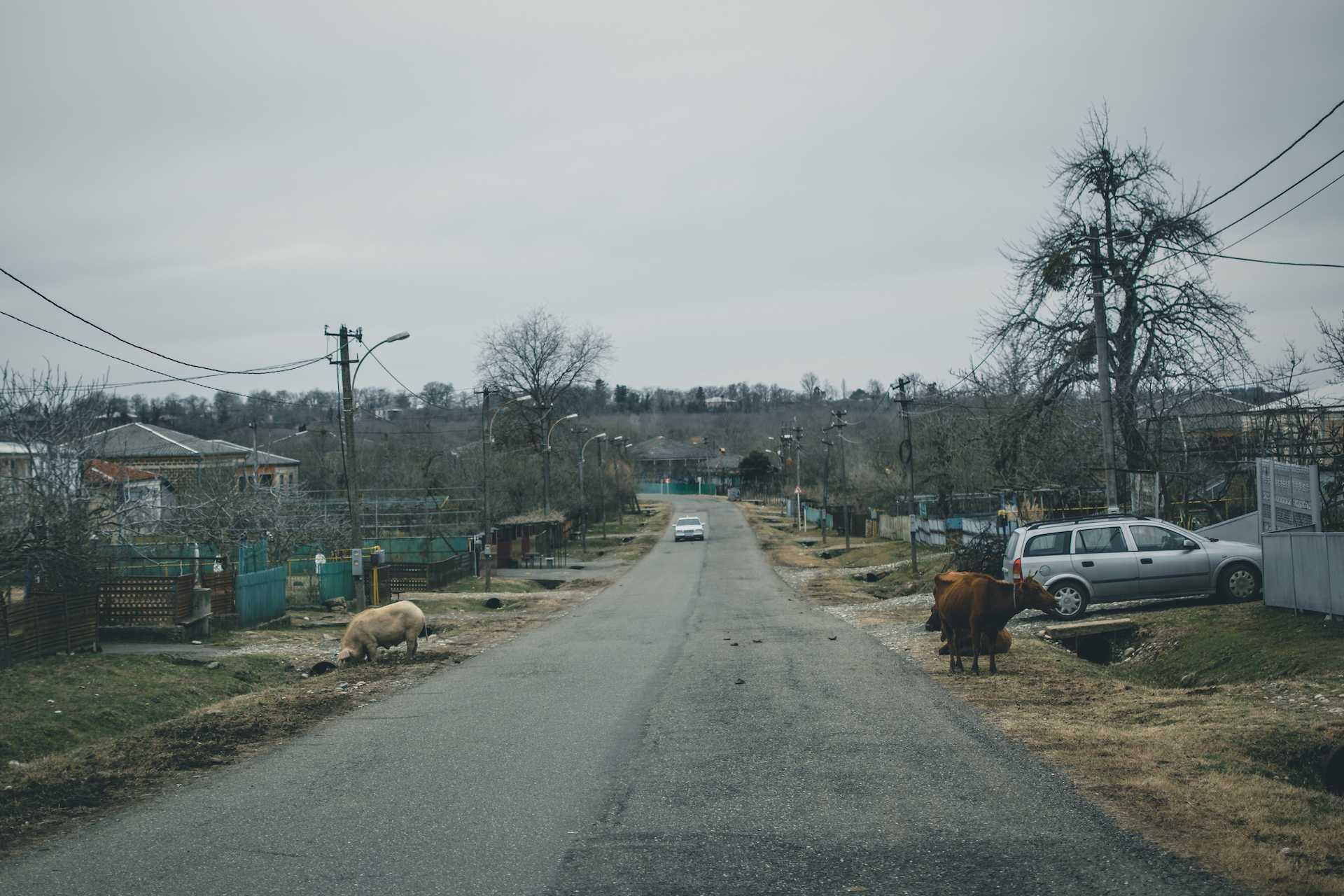 drogi Gruzja
