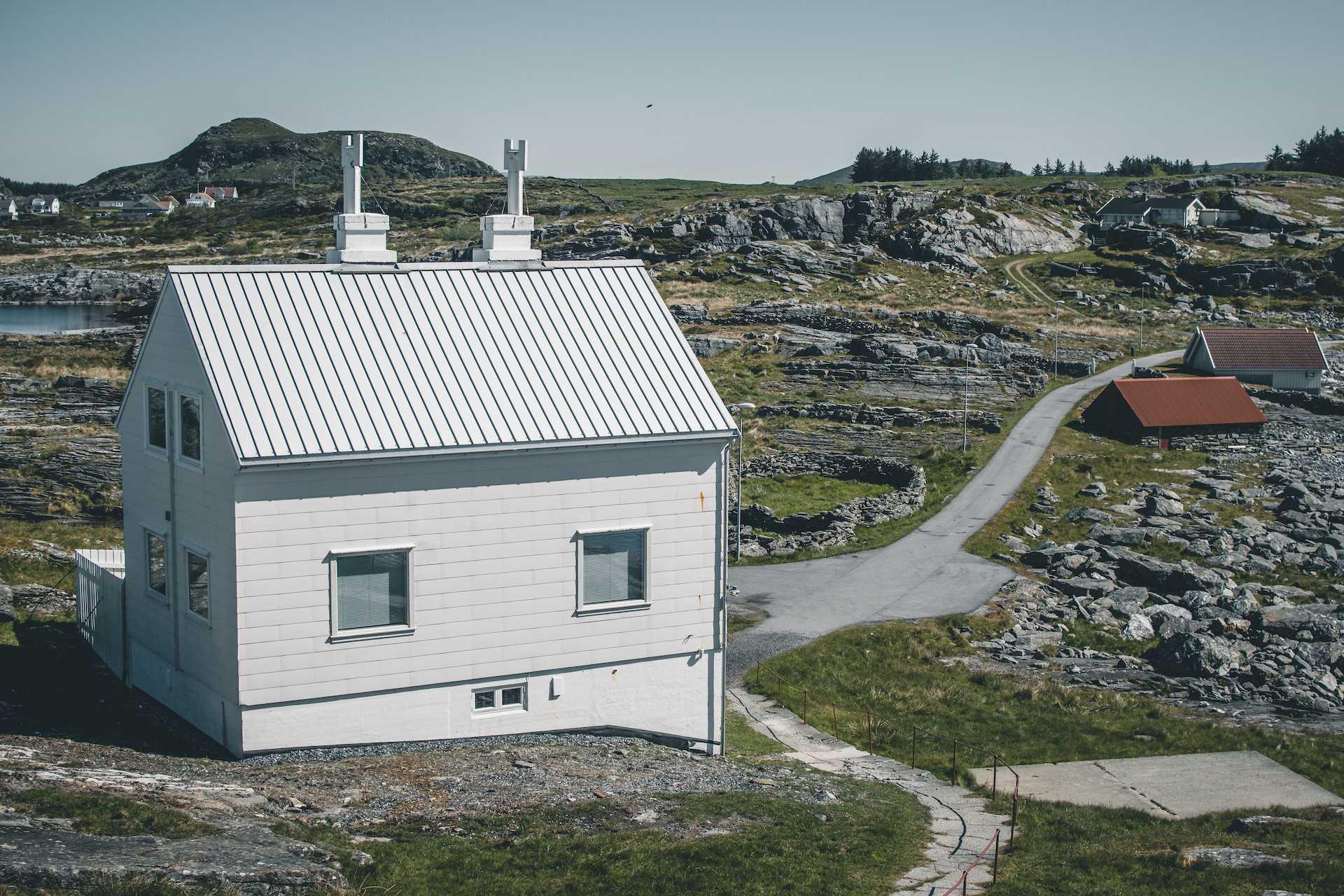 latarnie napołudniu Norwegii