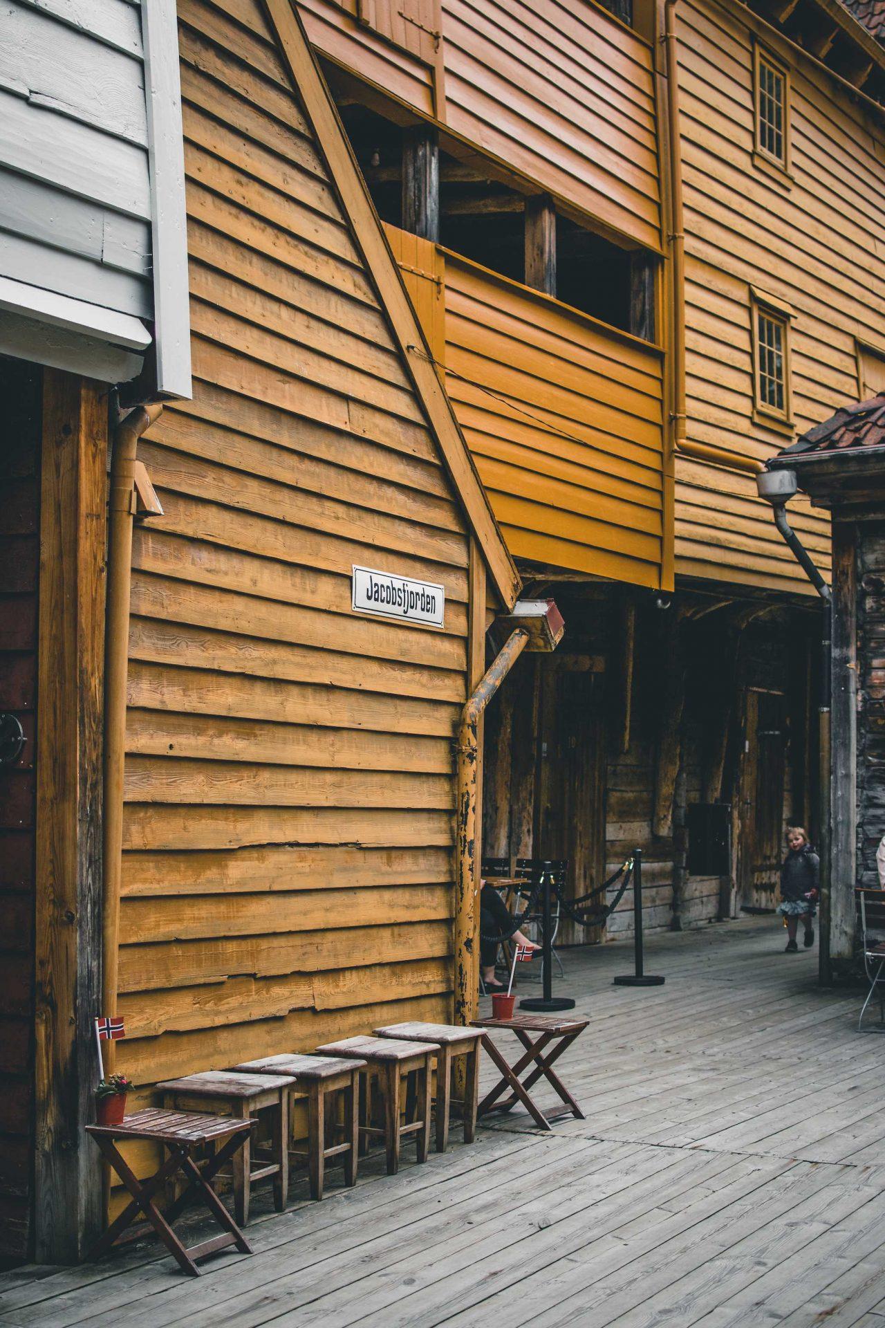 stara część Bergen