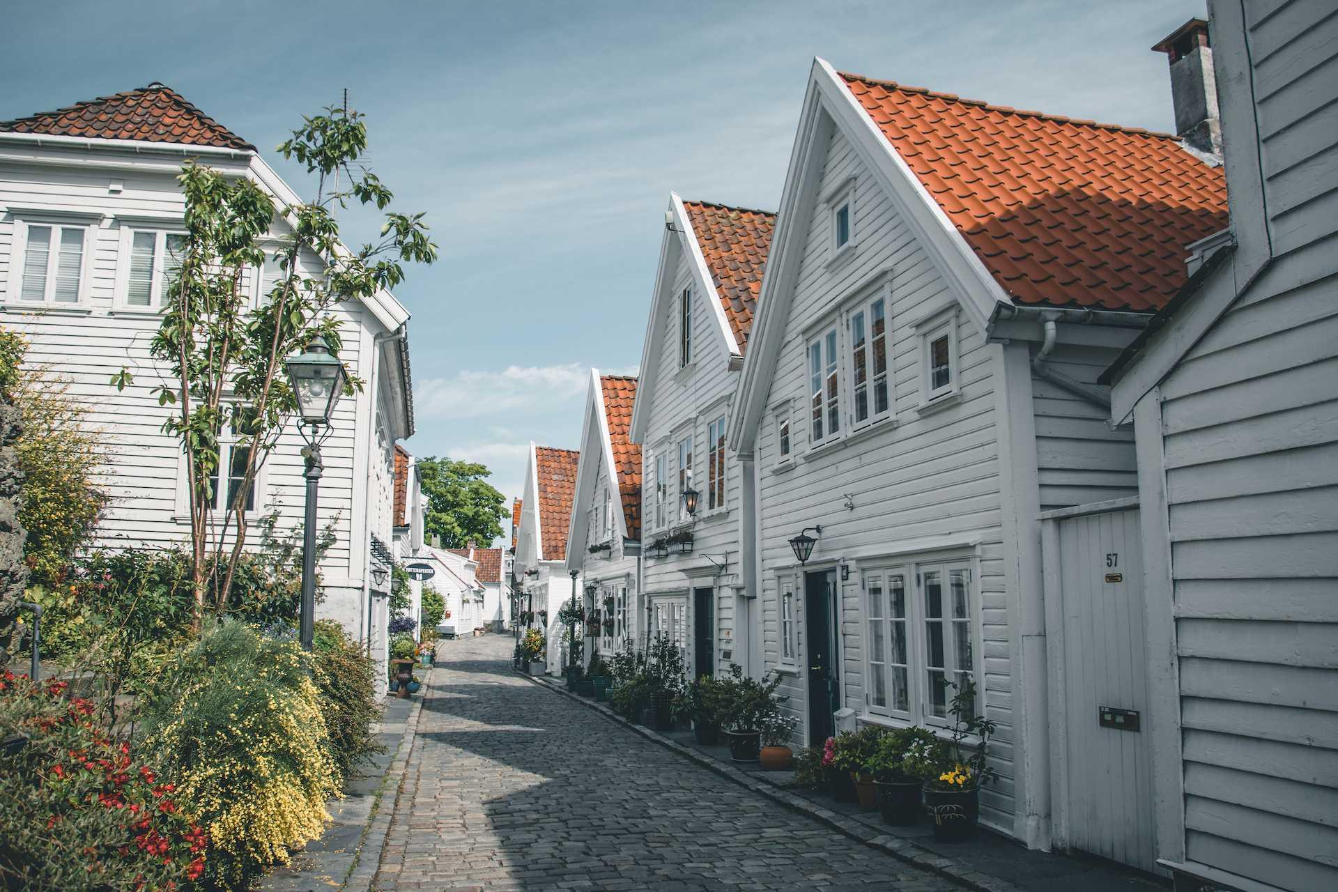 Stare miasto wStavanger
