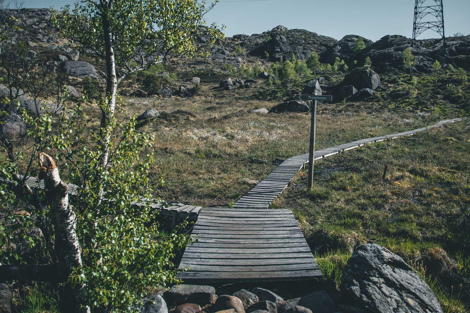 szlaki napołudniu Norwegii