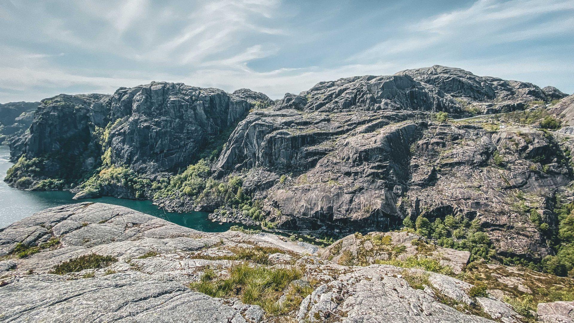 fiordy napołudniu Norwegii