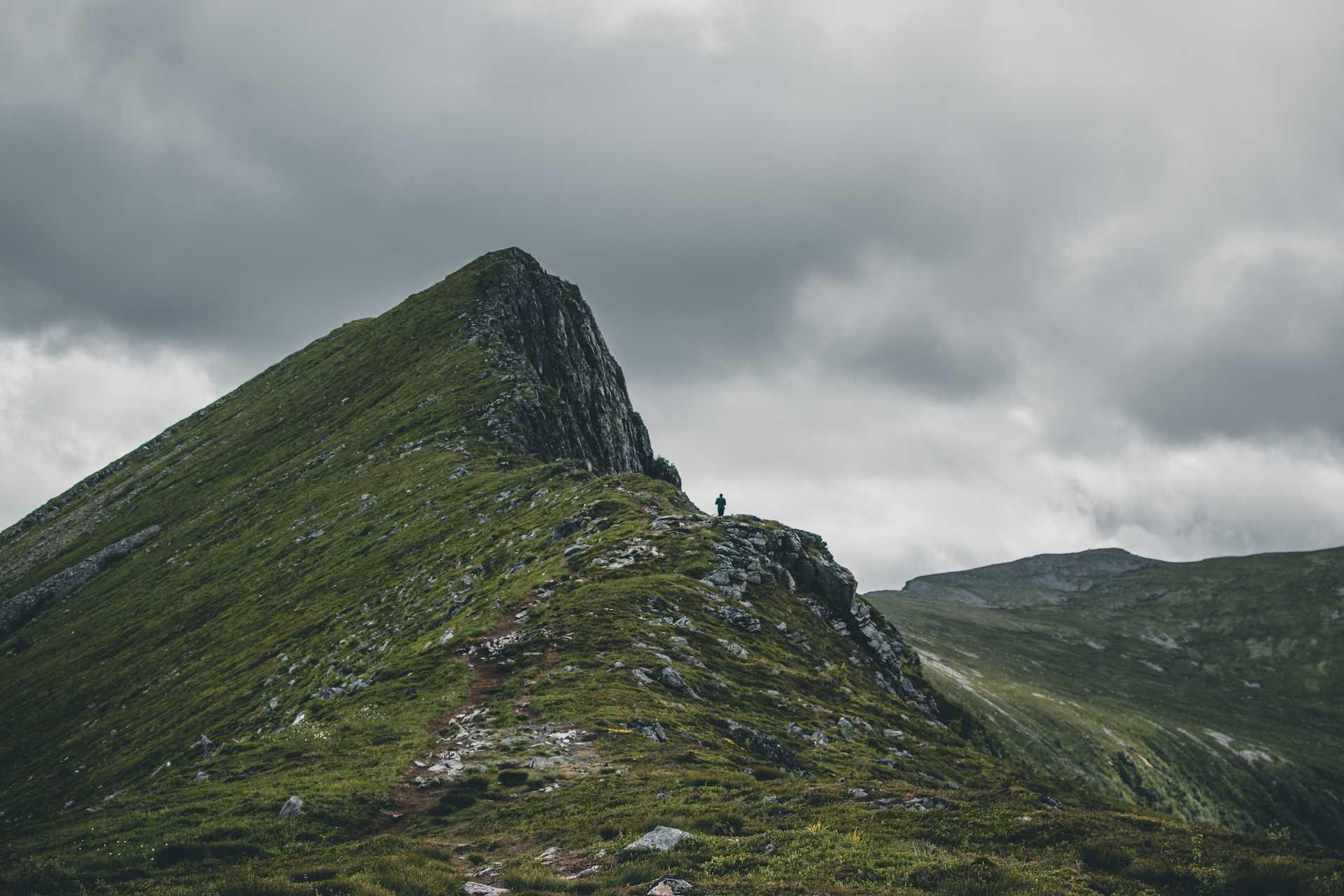 góry wokolicach alesund