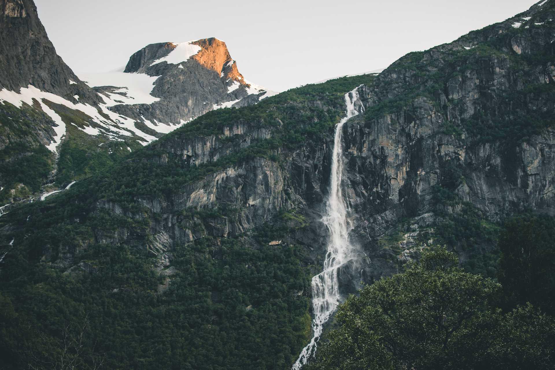 lodowiec Jostedalsbreen