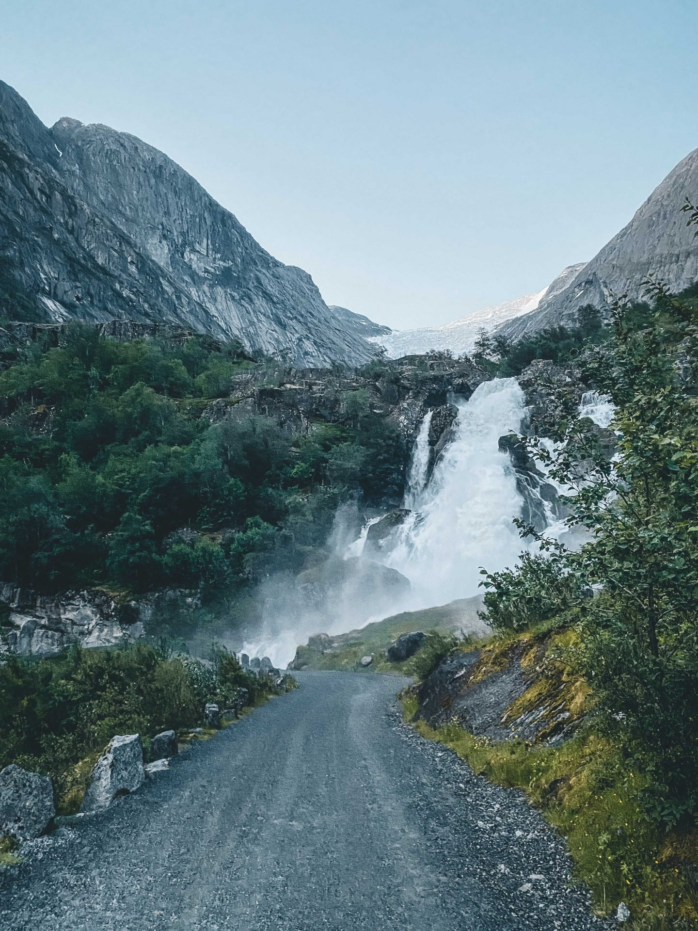 wodospad  Kleivafossen