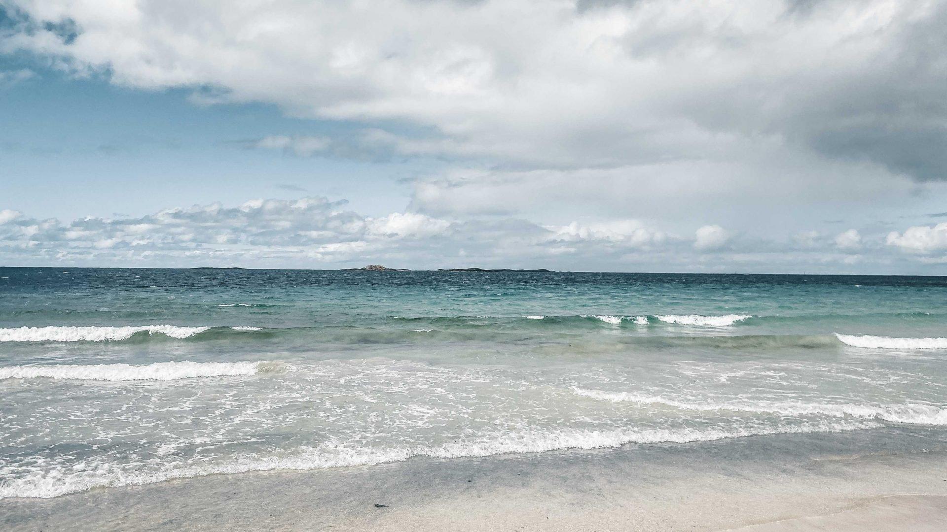 plaże wokolicach Alesund