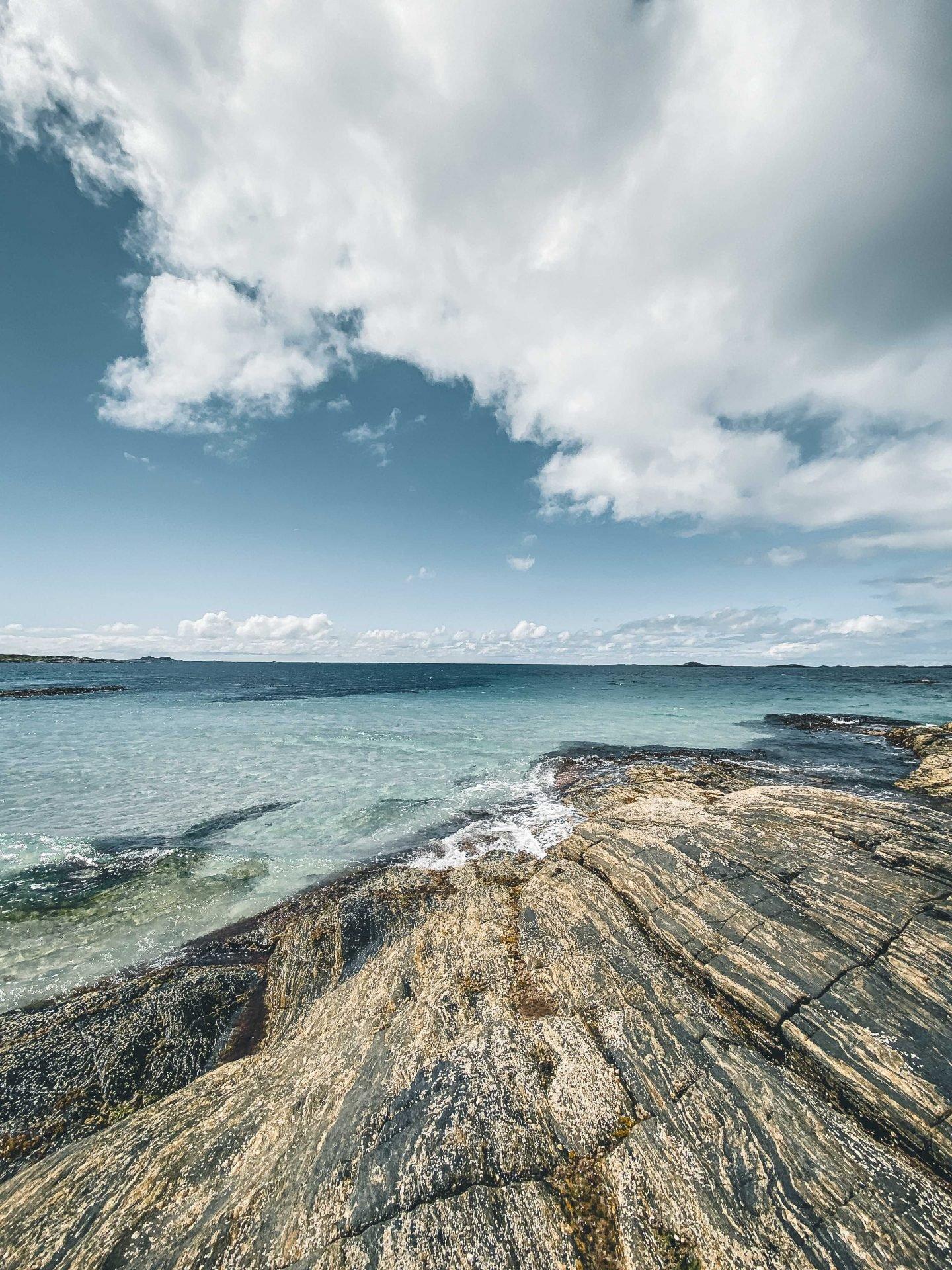 plaże wokolicach Ålesund