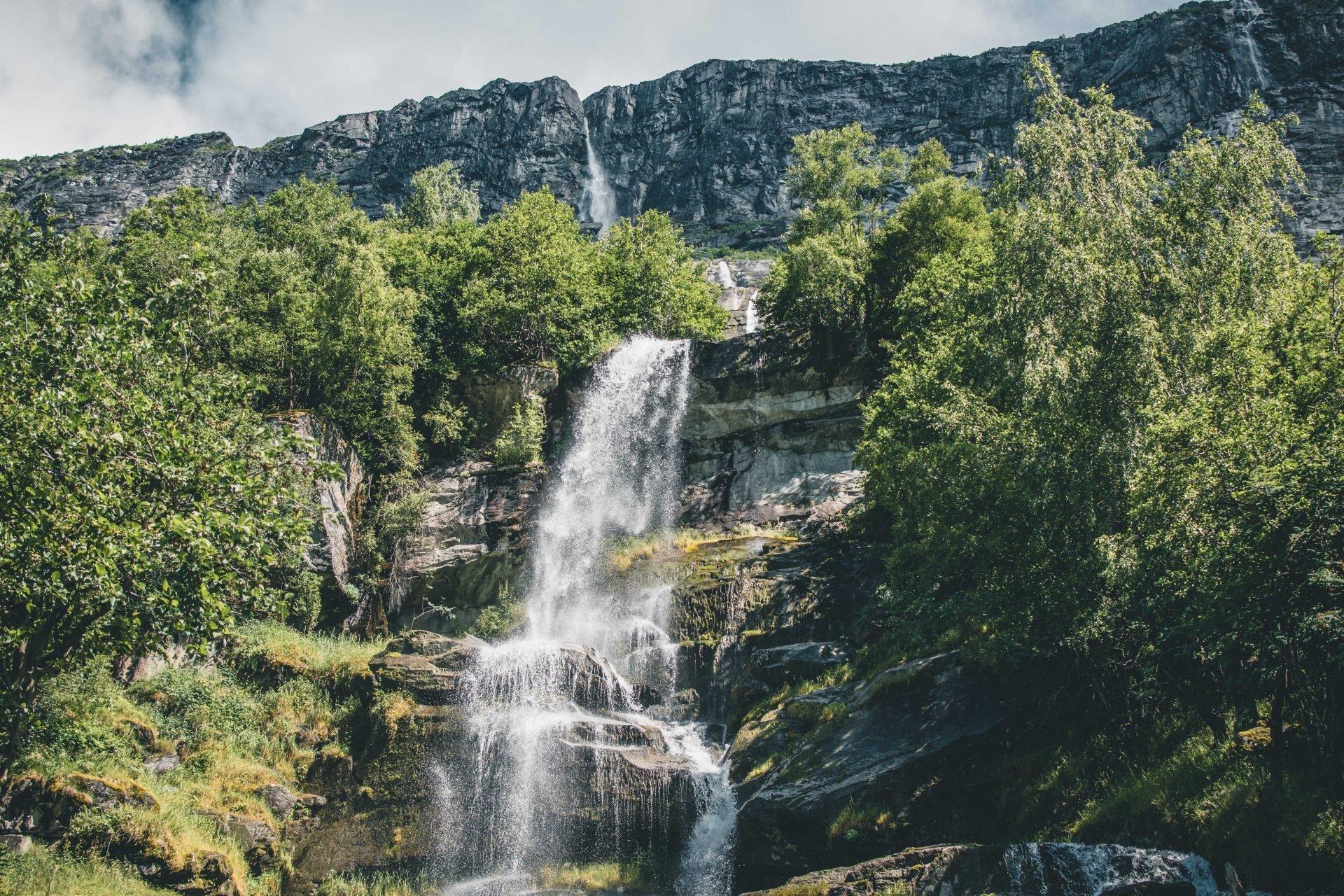 Najwyższy wodospad wNorwegii