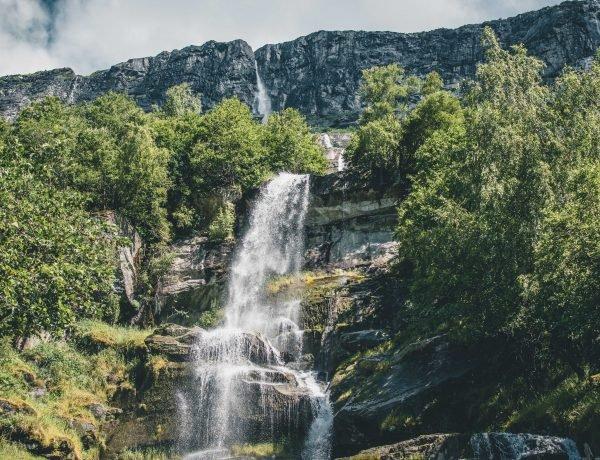 Najwyższy wodospad w Norwegii