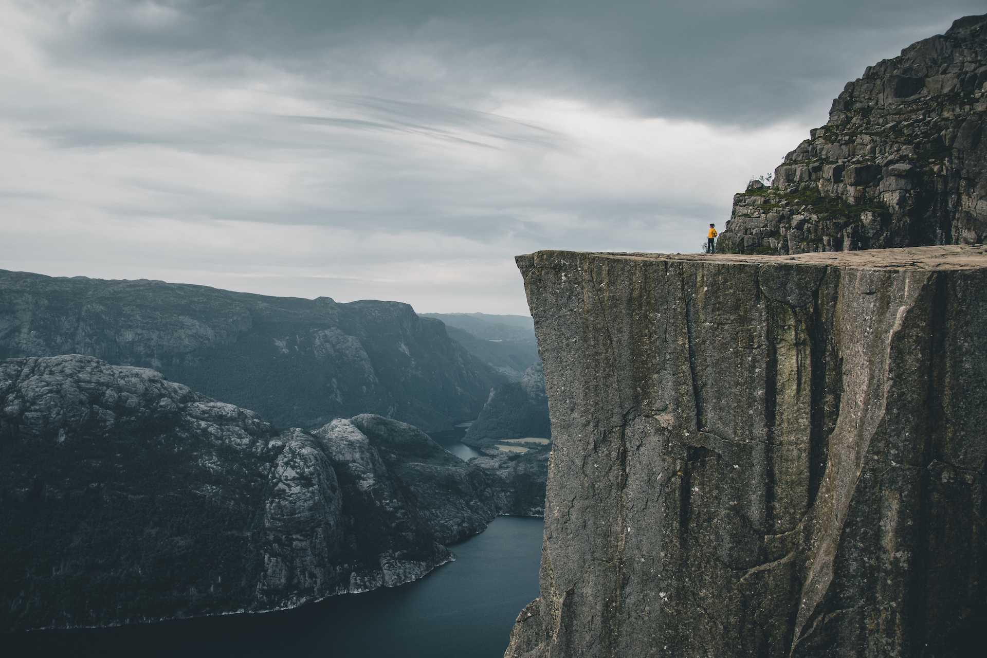 Preikestolen fiord