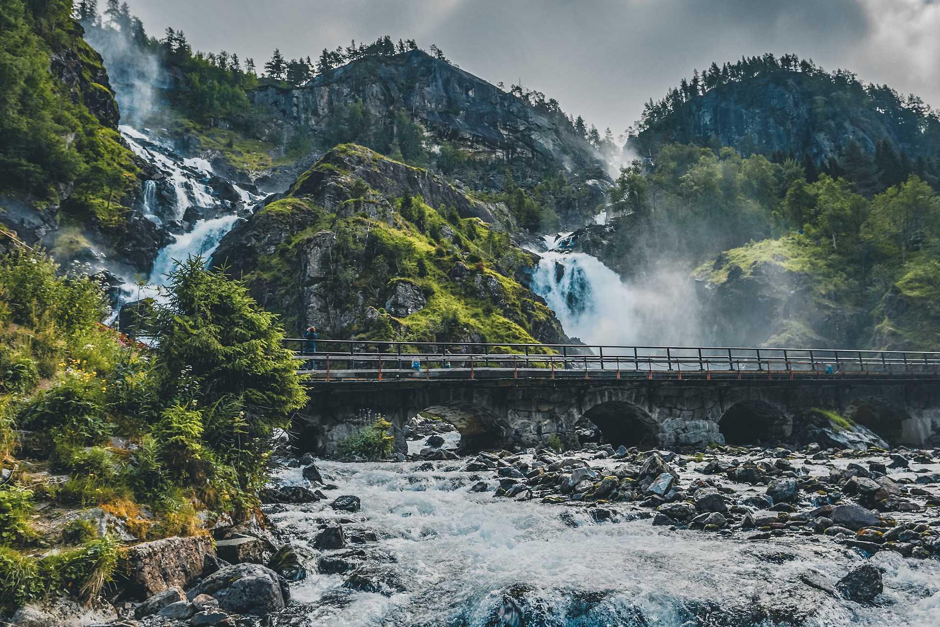 wodospad wNorwegii