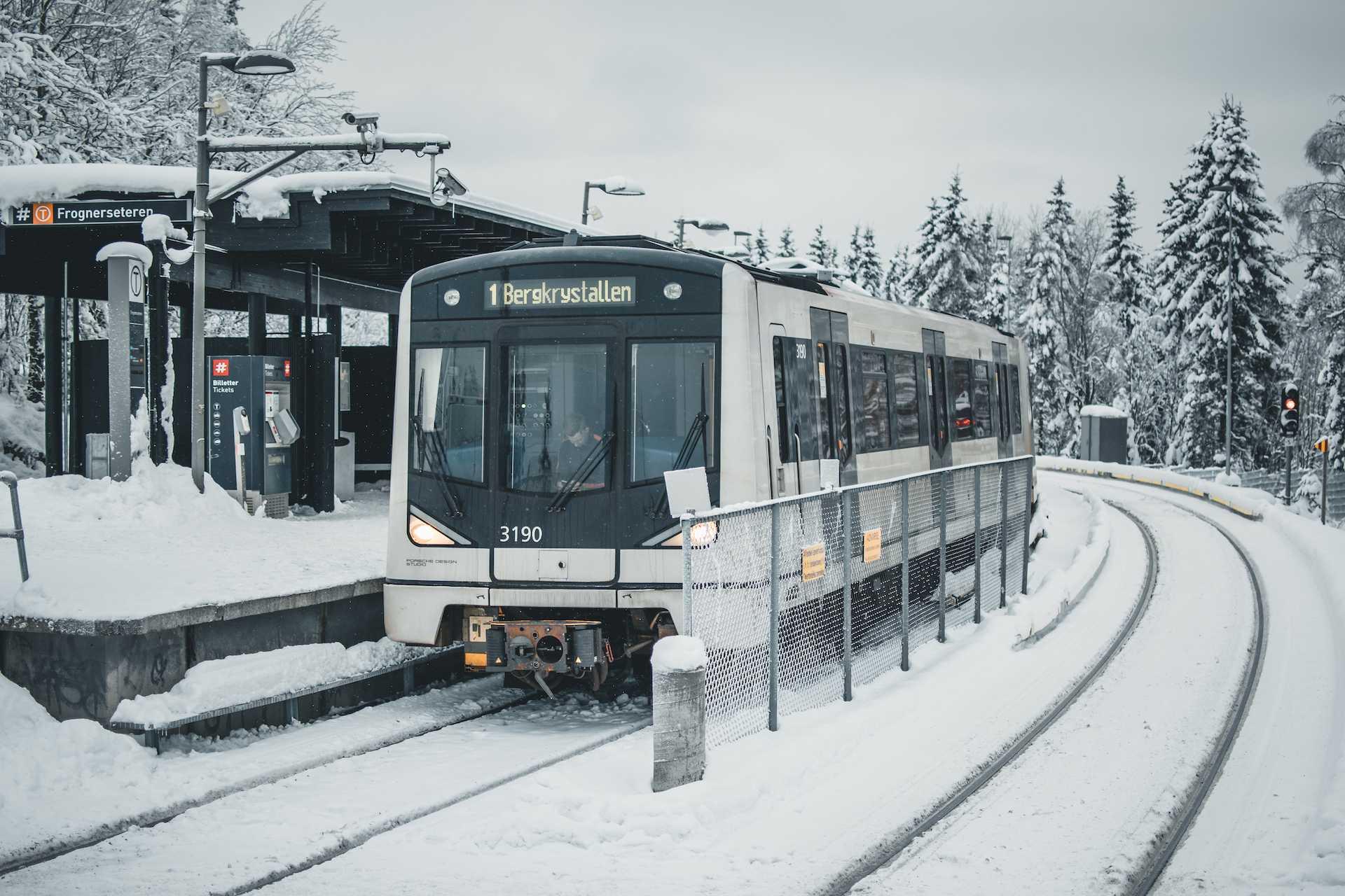 Oslo śnieg