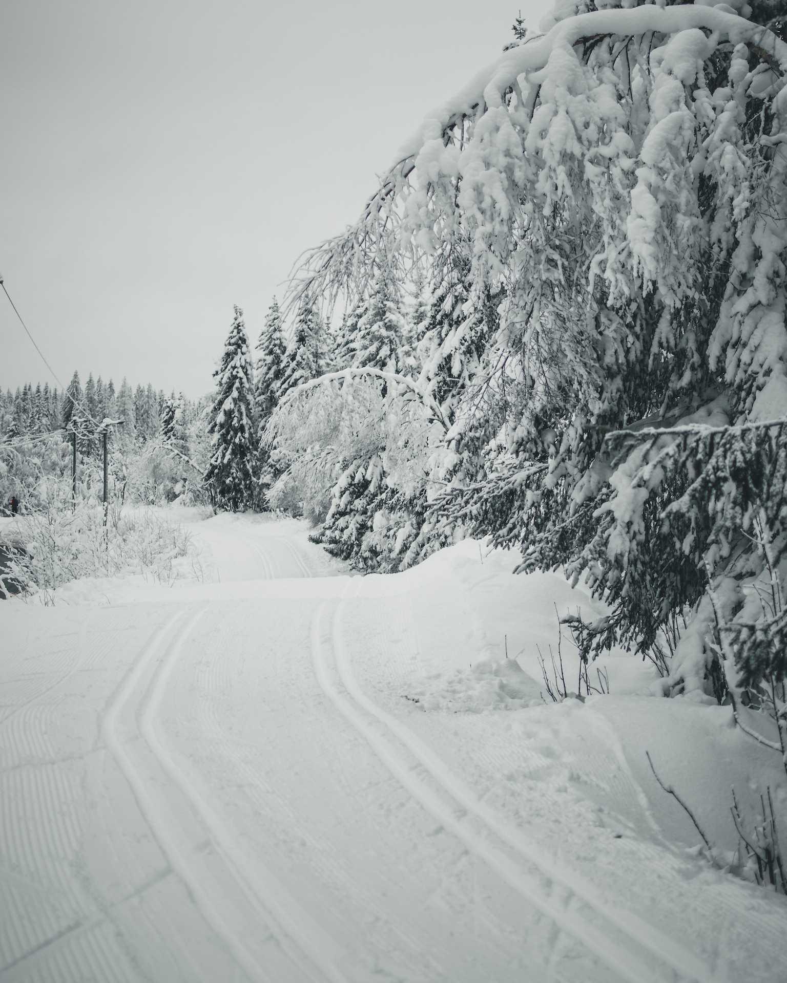 zimowy blog Norwegia