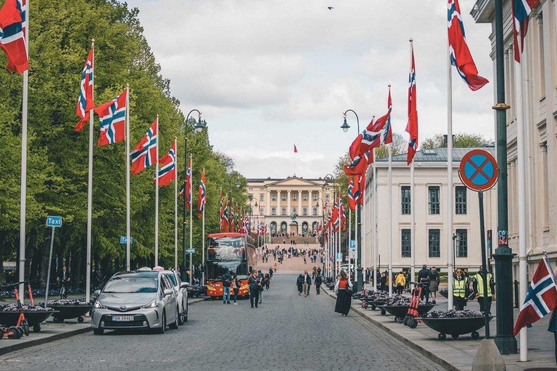 17 maja w Norwegii