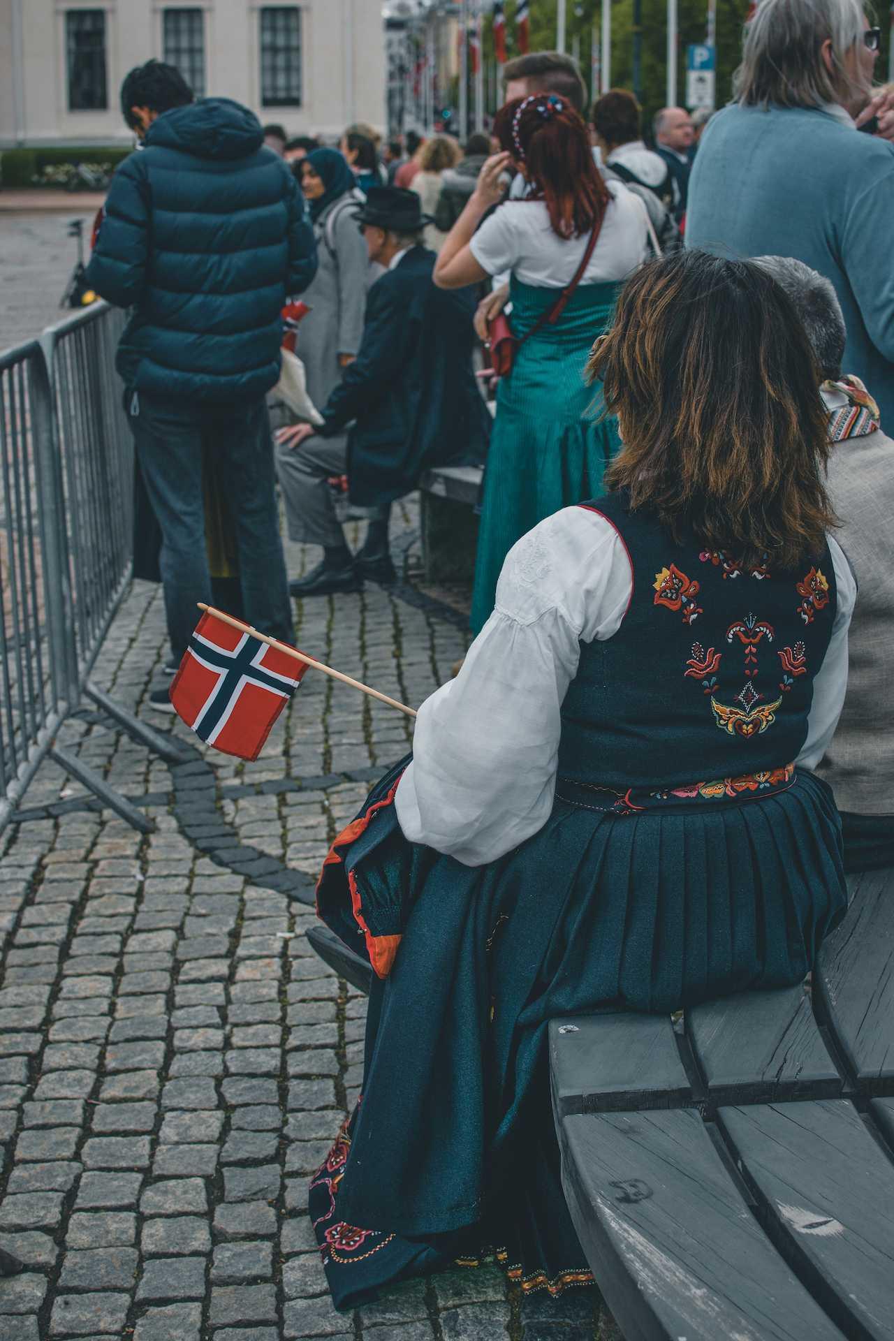 strój narodowy wNorwegii