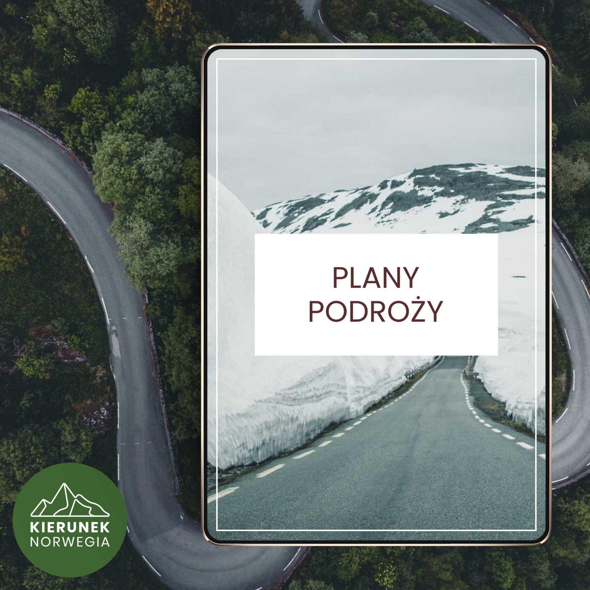 plan podróży poNorwegii