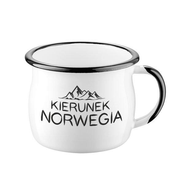 Kierunek Norwegia Kubek