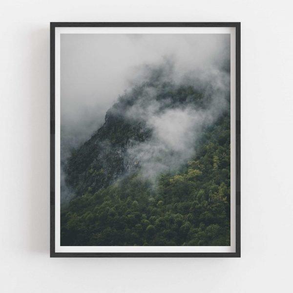 wydruk mgła