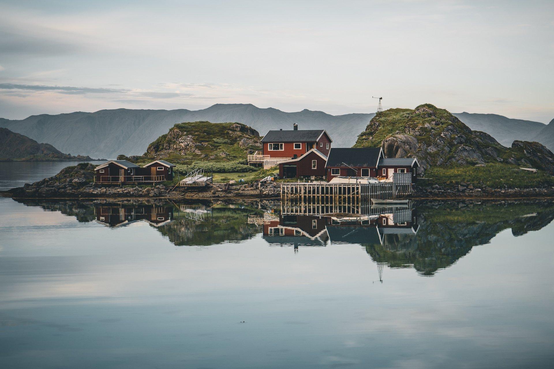 północ Norwegii
